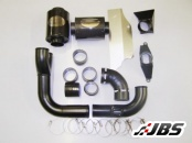 Forge Motorsport Twintake Induction Kit (For VW Golf MK5 ED30, Filter Originally In Engine Cover)