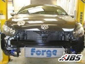 Forge Motorsport Front Mounted Twintercooler (For VW Scirocco 2.0 TSI)